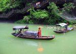 Boote auf dem Yangtze