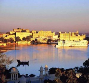 City Palace in Udaipur Indien