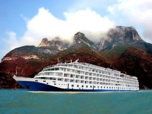 Kreuzfahrtschiff auf dem Yangtze